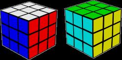 Clipart - Rubik's Cube