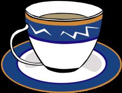 A Cup And A Dish Clip Art at Clker.com - vector clip art online ...