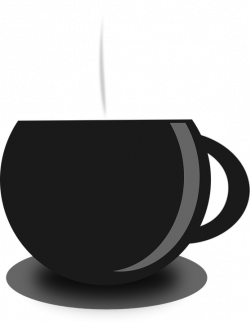 Hot Tea PNG Black And White Transparent Hot Tea Black And White.PNG ...