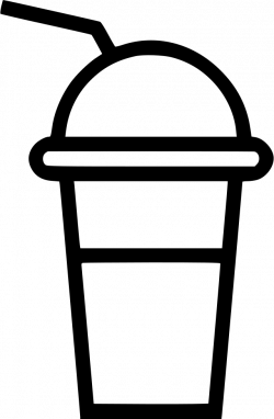 Smoothie Cup Fresh Straw Svg Png Icon Free Download (#481889 ...