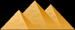 Egypt Pyramids PNG Clip Art - Best WEB Clipart