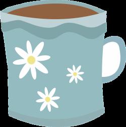 Cute mugs clipart
