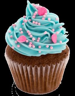Cupcake Blue transparent PNG - StickPNG