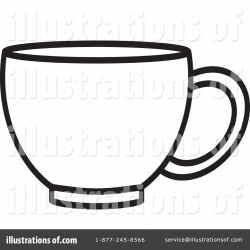 Cup Clipart #1127911 - Illustration by Lal Perera