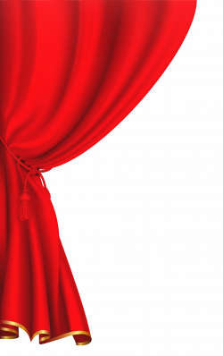 Red Curtain Clipart Image | buda y otros | Pinterest | Red curtains ...
