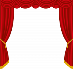 Transparent Red Curtains Decor PNG Clipart   Gallery Yopriceville ...