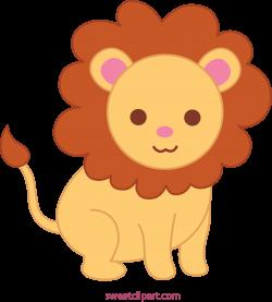 Cute Lion 2 Clip Art - Sweet Clip Art