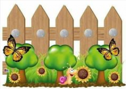 Cute fence clipart » Clipart Station