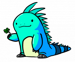 Iguana Sticker for iOS & Android | GIPHY