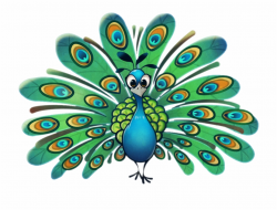 Download Transparent Background Cute Peacock Clipart - Clip ...