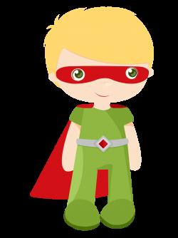 Kids dressed as Superheroes Clipart. - Oh My Fiesta! for Geeks