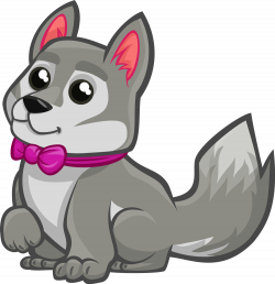28+ Collection of Baby Wolf Clipart | High quality, free cliparts ...