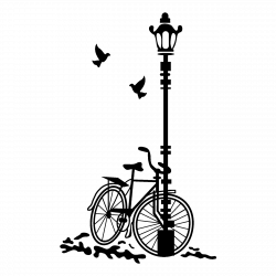 Vinilo Bicicleta en el Parque | Karla | Pinterest | Stenciling ...