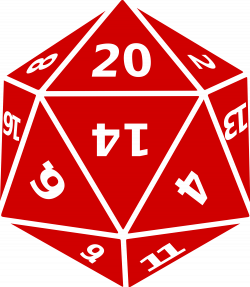 File:Twenty sided dice.svg - Wikimedia Commons