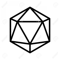 D20 Drawing at GetDrawings.com | Free for personal use D20 Drawing ...