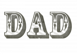 Word clipart daddy - Pencil and in color word clipart daddy