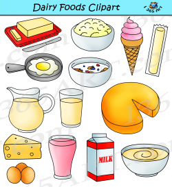 Dairy Clipart Graphics Milk Products Download - Clipart 4 School