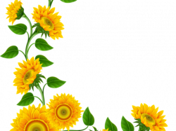 Daisy Flower Border Clip Art Free - Vector And Clip Art Inspiration •