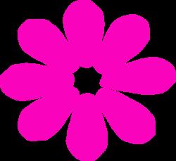 Bright Pink Daisy Clip Art at Clker.com - vector clip art online ...