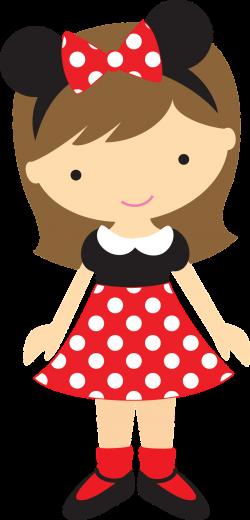 Minus - Say Hello! | Clip Art | Pinterest | Clip art, Mice and Dolls