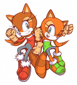 The Super Raccoon Sisters! - Luigine and Marine by Cylent-Nite on ...