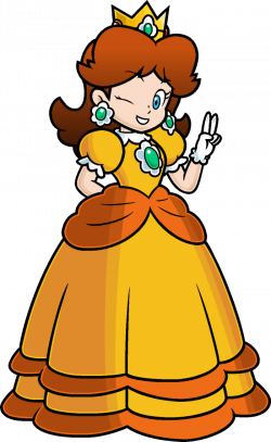 Princess Daisy Drawing at GetDrawings.com | Free for personal use ...
