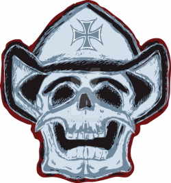 Cowboy Skull Drawing at GetDrawings.com | Free for personal use ...