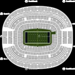 Dallas Cowboys Seating Chart & Map | SeatGeek