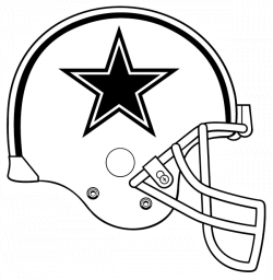 Cowboys Helmet Drawing at GetDrawings.com   Free for personal use ...