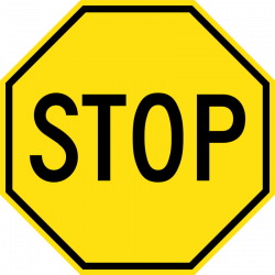 Free Stop Sign Clipart Black And White Images 【2018】