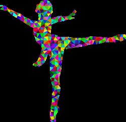 Ballet Dancer Low poly Clip art - low poly 2316*2242 transprent Png ...