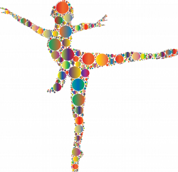 Colorful Ballet Dancer Circles 2 Icons PNG - Free PNG and Icons ...