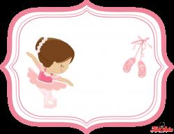Kit para Fiestas de Ballet para imprimir gratis. | Bailarina ...