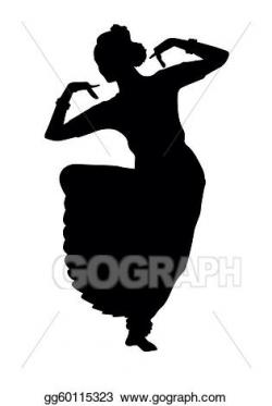 Vector Art - Indian dancing . Clipart Drawing gg60115323 ...