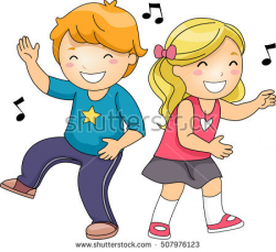 child dancing clipart | Clipart Station