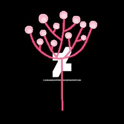 Pink Dandelion Clipart by CinnamonCoffeeStudio on DeviantArt