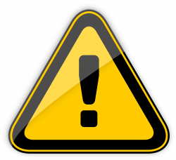 Danger Warning Sign PNG Clipart - Best WEB Clipart
