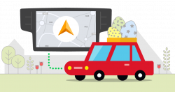 5 tips how to stay safe on Easter roads - Sygic | Bringing life to maps