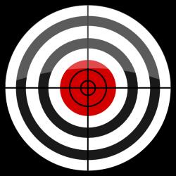 b>Target</b> Icon Clip Art at Clker.com - vector clip art online ...