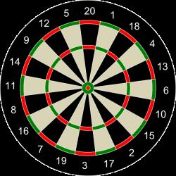 archery target dart board game | Hunting Prowess | Pinterest | Dart ...