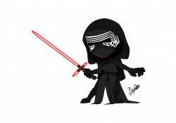 28+ Collection of Kylo Ren Drawing Chibi | High quality, free ...