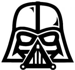 darth vader clip art star wars darth vader vinyl decal sticker car ...