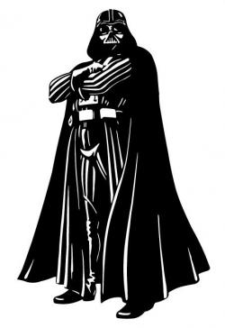 Darth Vader Full Body Silhouette