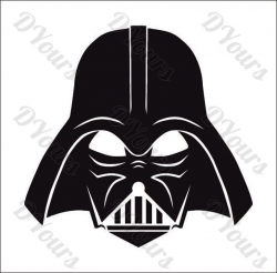 Darth Vader Star Wars Vector Model - svg cdr ai pdf eps files - Instant  Download Files for Laser Cutting Printing CNC Cut Engraving Clipart