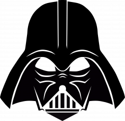 Darth Vader Stencil, free download | Darth vader stencil, Darth ...