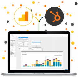 Combine and Visualize Your Google Analytics and Hubspot Data Together