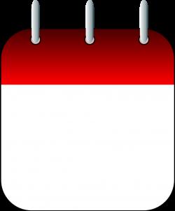 Calendar card clipart - Clipground