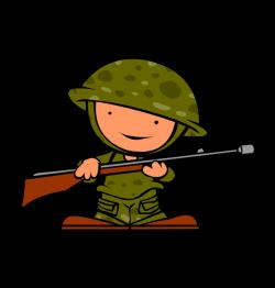 Clipart veterans day soldier - Clipartix