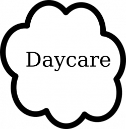 28+ Collection of Daycare Clipart Black And White   High quality ...