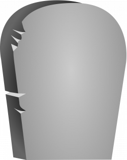 Clipart - Halloween Rounded Tombstone